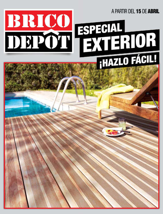 Ofertas de Bricodepot, Especial exterior ¡Hazlo Fácil! - Zaragoza