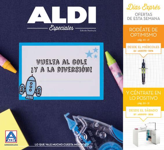 Ofertas de ALDI, Vuelta al cole