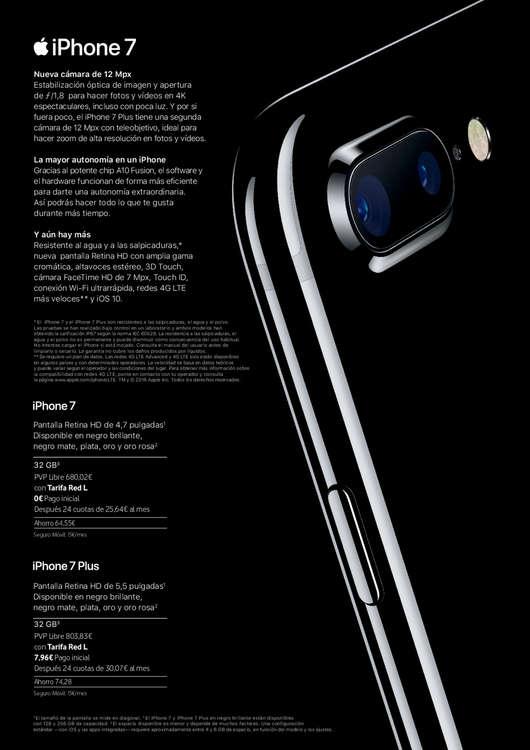 Comprar iphone 7 plus barato en las palmas de gran canaria - Ofertas canarias enero ...
