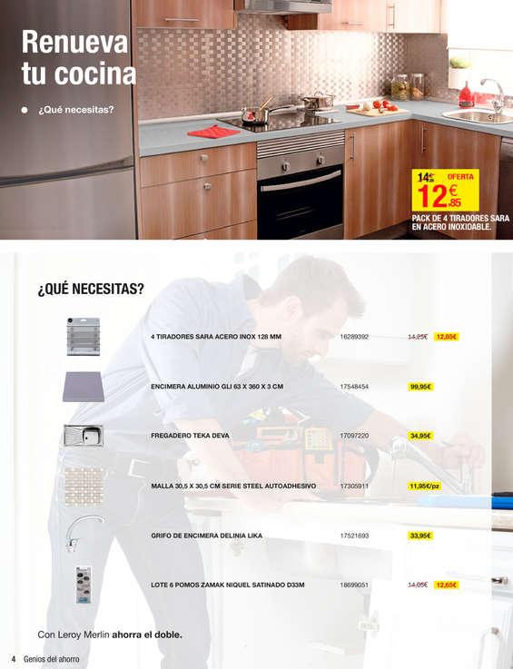Leroy merlin encimeras de cocina ofertas y cat logos for Ofertas encimeras cocina