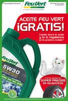 Ofertas de Feu Vert, Aceite Feu Vert ¡Gratis!