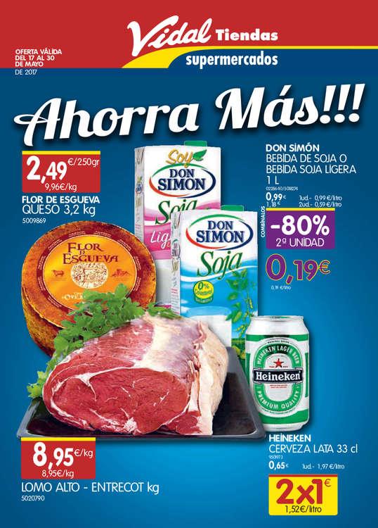 Ofertas de Vidal, ¡Ahorra más!