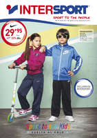 Ofertas de Intersport, Sport to the kids. Vuelta al cole