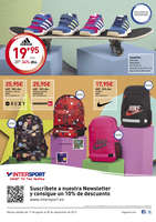 Ofertas de Intersport, Sport to the kids. Vuelta al cole