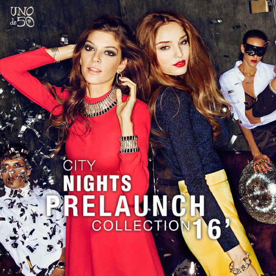 Ofertas de Uno de 50, City nights. Prelaunch collection '16