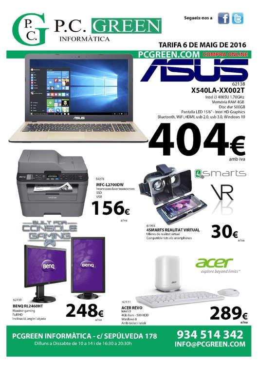 Ofertas de PC Green, Compra Online