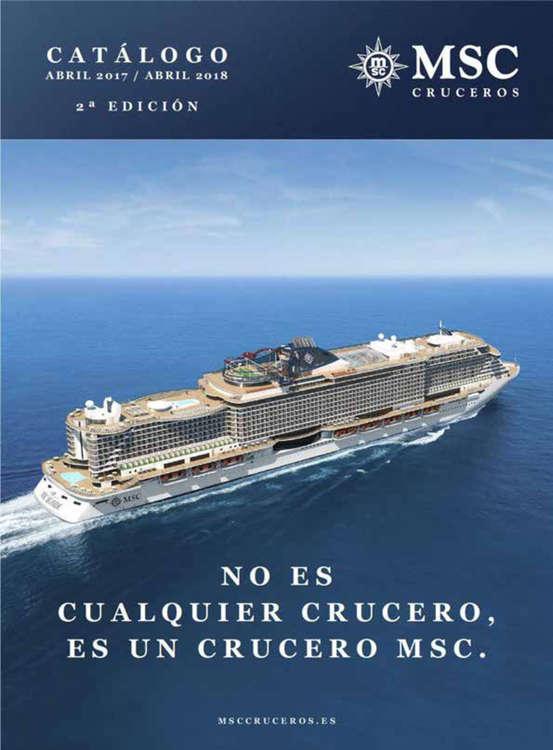 Ofertas de Nautalia, No es cualquier crucero, es un crucero MSC