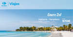 Ofertas de Carrefour Viajes, Enero 2x1