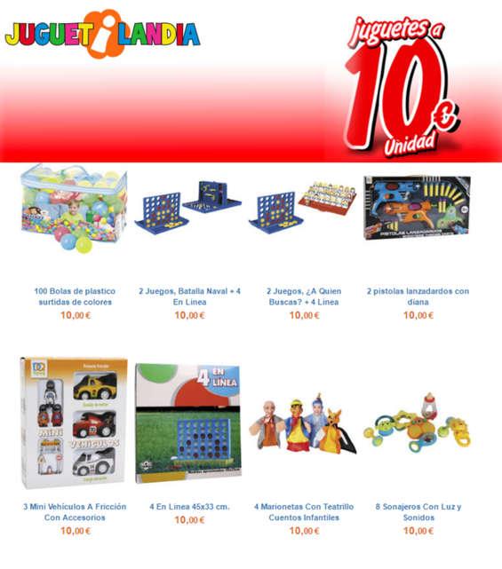 Ofertas de Juguetilandia, Juguetes a 10 €