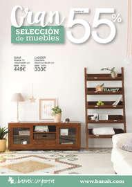 Gran selección de muebles hasta el 55% - Guipúzcoa