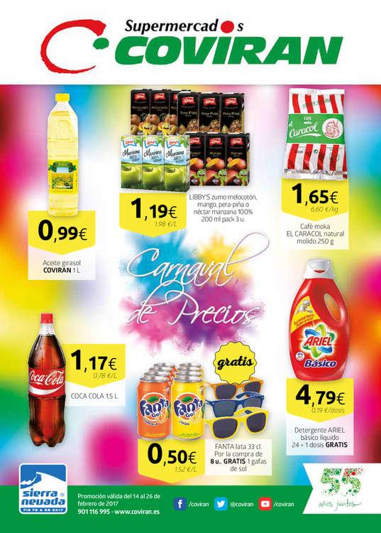 Ofertas de Supermercados Covirán, Carnaval de precios