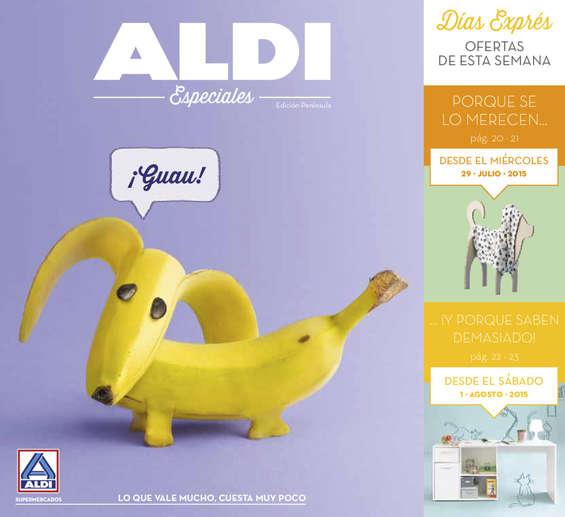 Ofertas de ALDI, Especial mascotas