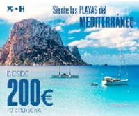 Siente las playas del Mediterraneo