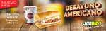 Ofertas de Subway, Desayuno americano