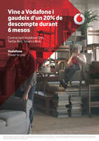 Ofertas de Vodafone, Vine a Vodafone i gaudeix d'un 20% de descompte durant 6 mesos