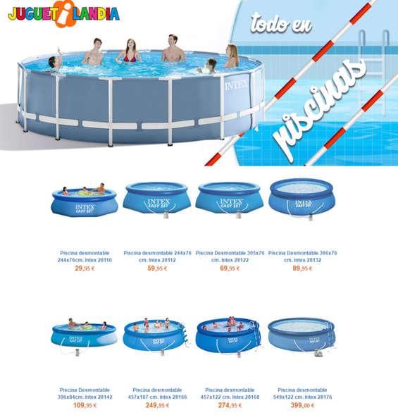 Ofertas de Juguetilandia, Todo en piscinas