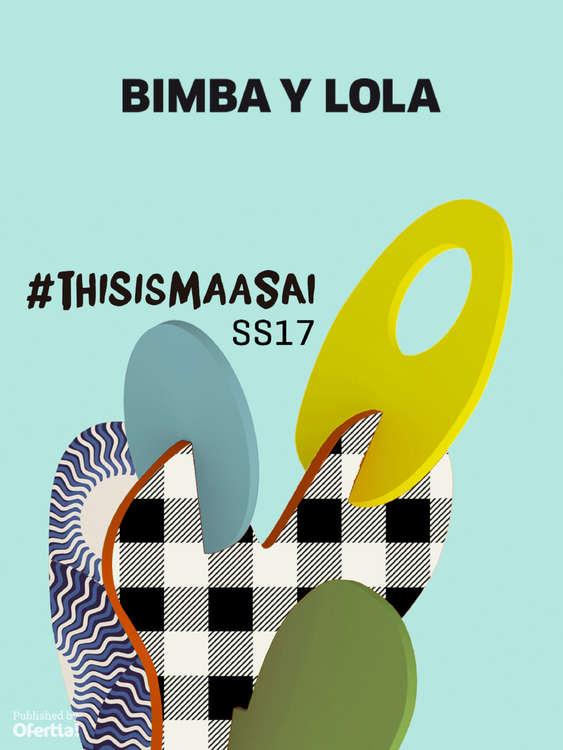 Ofertas de Bimba & Lola, #thisismaasai