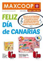 Ofertas de Maxcoop, Feliz día de Canarias