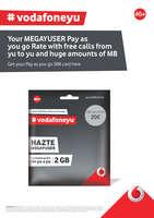 Ofertas de Vodafone, #vodafoneyu