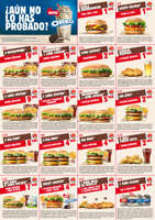 Ofertas de Burger King, ¿Aún no lo has probado?