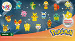 Ofertas de McDonald's, Happy Meal Pokemon