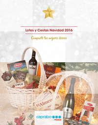 Lotes y cestas Navidad 2016