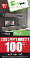 Ofertas de Mobiprix, Descompte directe de 100€