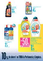 Ofertas de HiperCor, 10% de ahorro en limpieza y perfumería