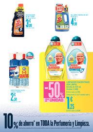 10% de ahorro en limpieza y perfumería