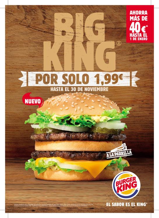 Ofertas de Burger King, Big King