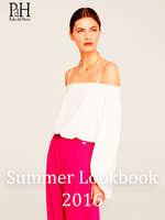 Ofertas de Pedro del Hierro, Summer Lookbook 2016