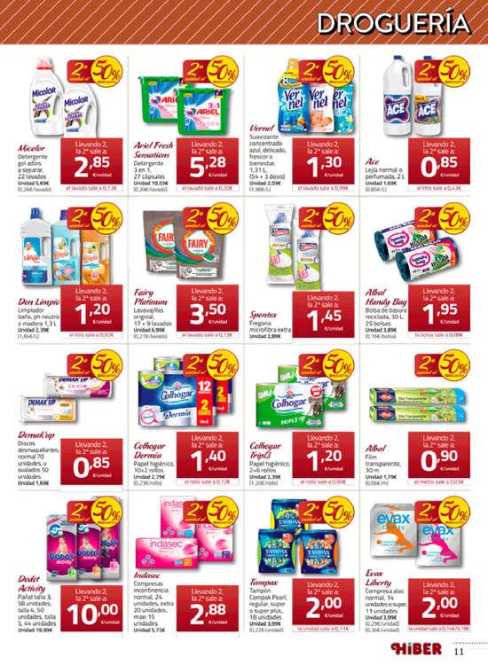 Ofertas de Supermercados Hiber, 2ª unidad al 50% de descuento ... y los mejores precios