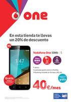 Ofertas de Vodafone, En esta tienda te llevas un 20% de descuento