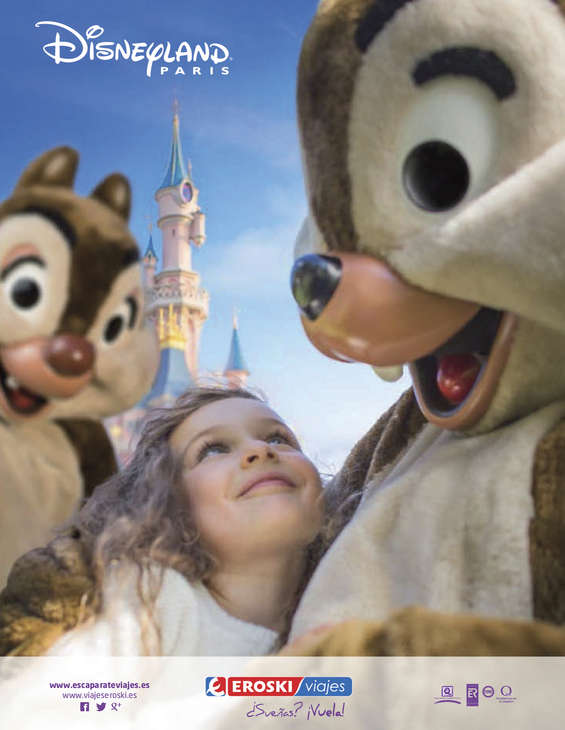 Ofertas de Eroski Viajes, Disneyland Paris Verano 2015