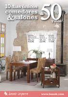 Ofertas de Banak Importa, 10 días únicos comedores & salones al -50% y más! - Asturias