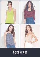Ofertas de Forever21, Descuentos en camisetas y bodys