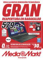 Ofertas de Media Markt, Gran Reapertura en Barakaldo