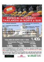 Ofertas de Central de Viajes, Especial Octubre!