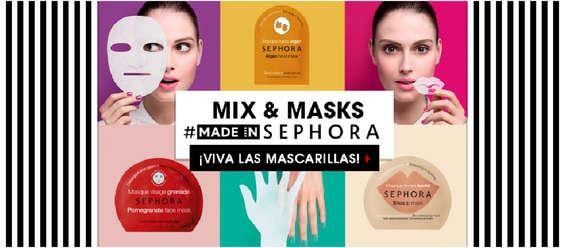 Ofertas de Sephora, ¡Viva las mascarillas!
