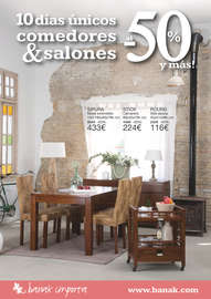 10 días únicos comedores & salones al -50% y más! - Alicante