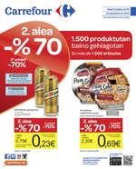 Ofertas de Carrefour, 2. alea -% 70