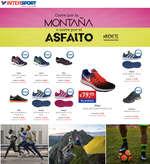 Ofertas de Intersport, Corre por la montaña o corre por el asfalto