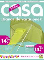 Ofertas de CASA, ¡Ganas de vacaciones!