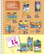 Ofertas de Carrefour, Portem molta escola dins!