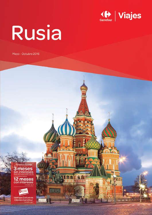 Ofertas de Carrefour Viajes, Rusia