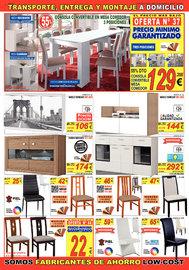 Muebles 70% más baratos