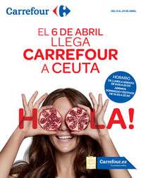 El 6 de abril llega Carrefour a Ceuta