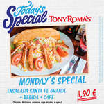 Ofertas de Tony Romas, Today's Special