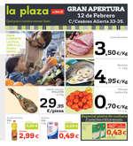 Ofertas de La Plaza de DIA, Gran apertura