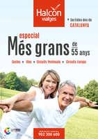 Ofertas de Halcón Viajes, Especial més grans de 55 anys